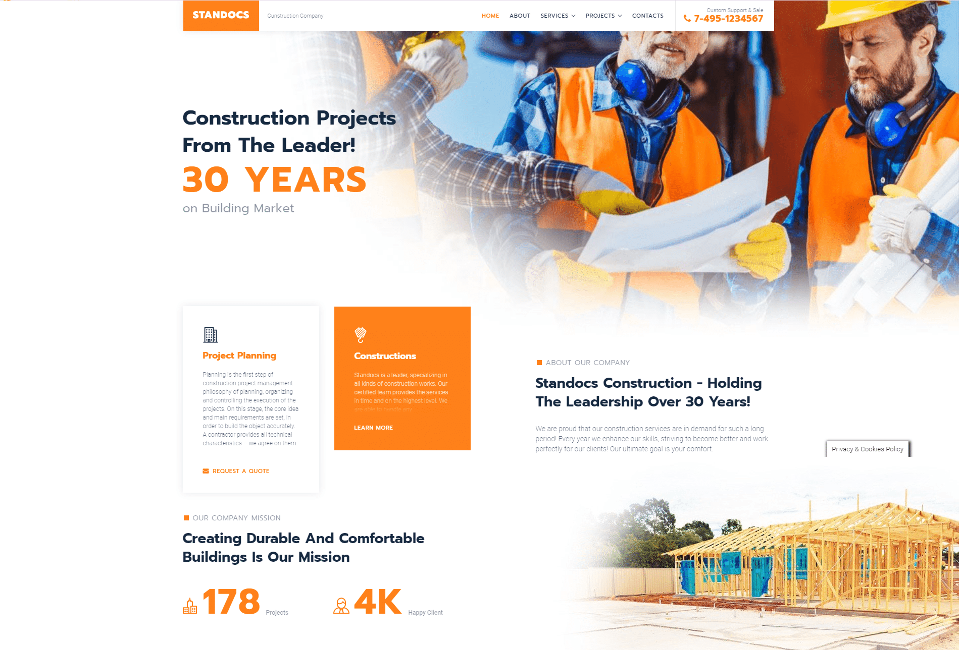Construction Company DFY