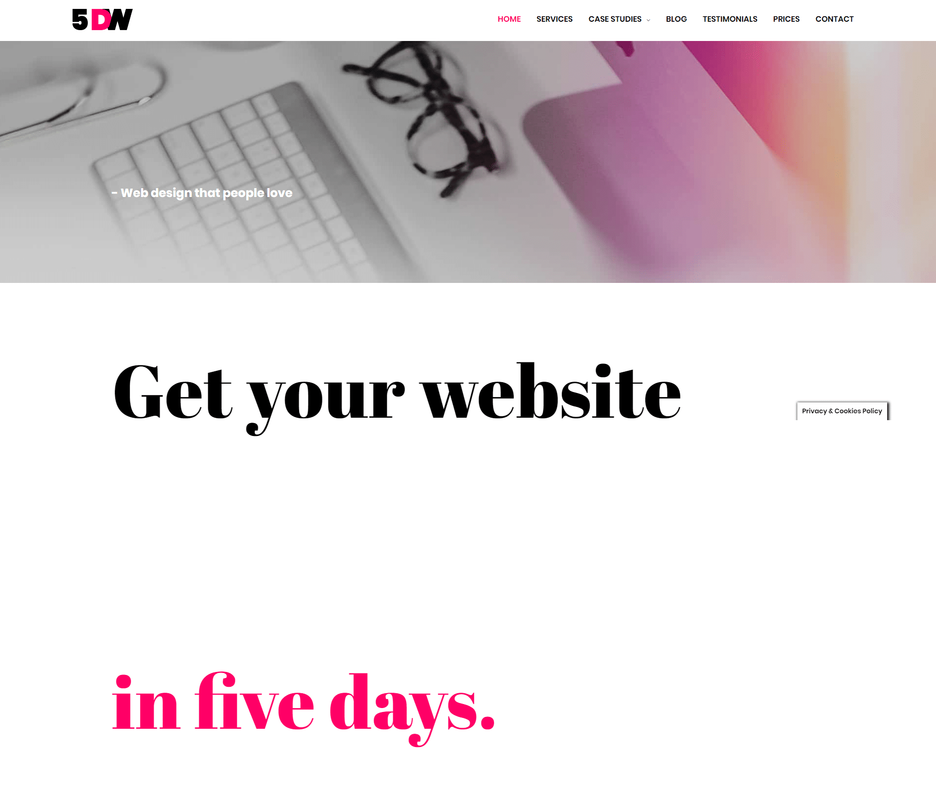 Five Days Website Agency DFY