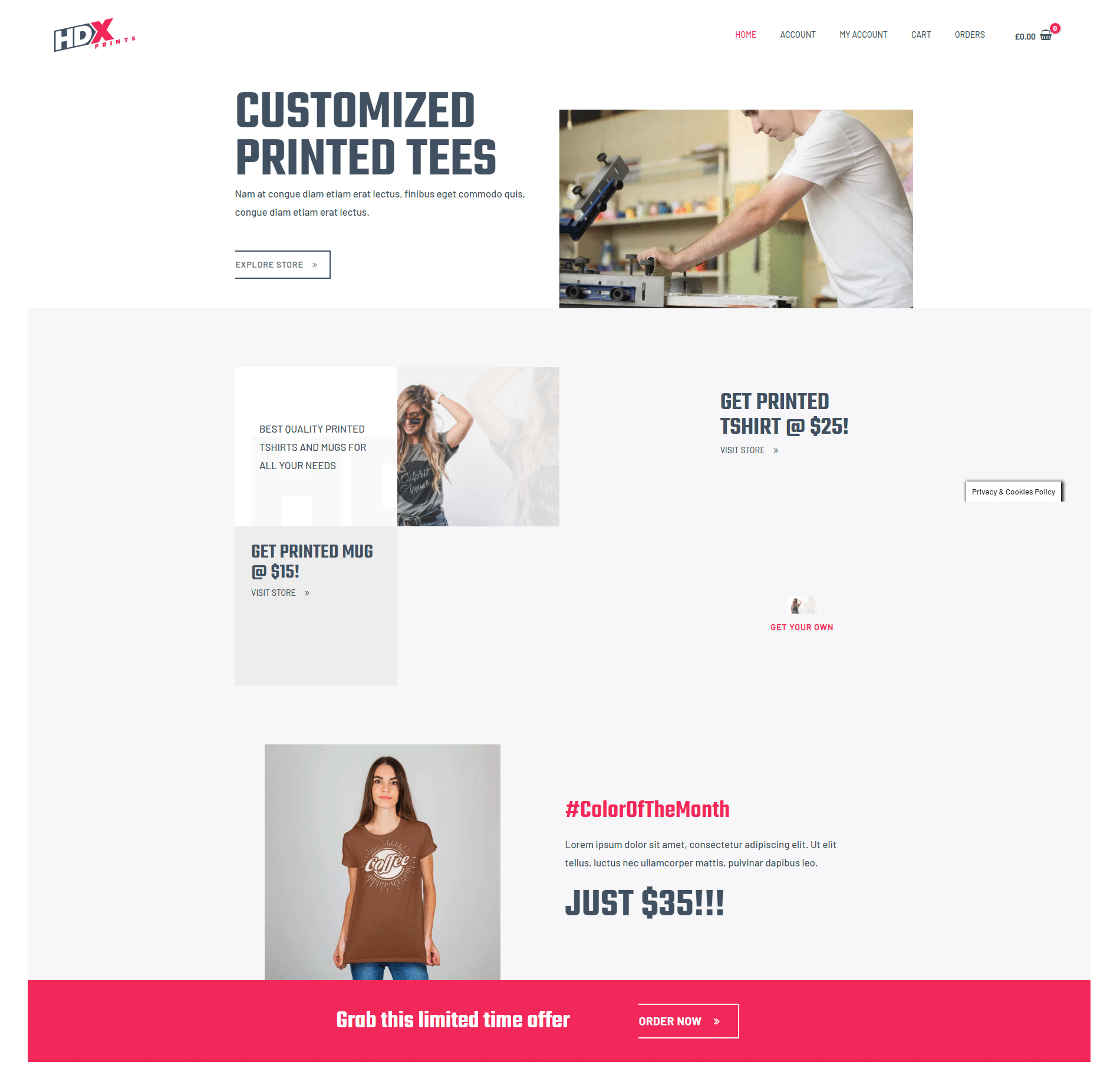 Printing Business DFY