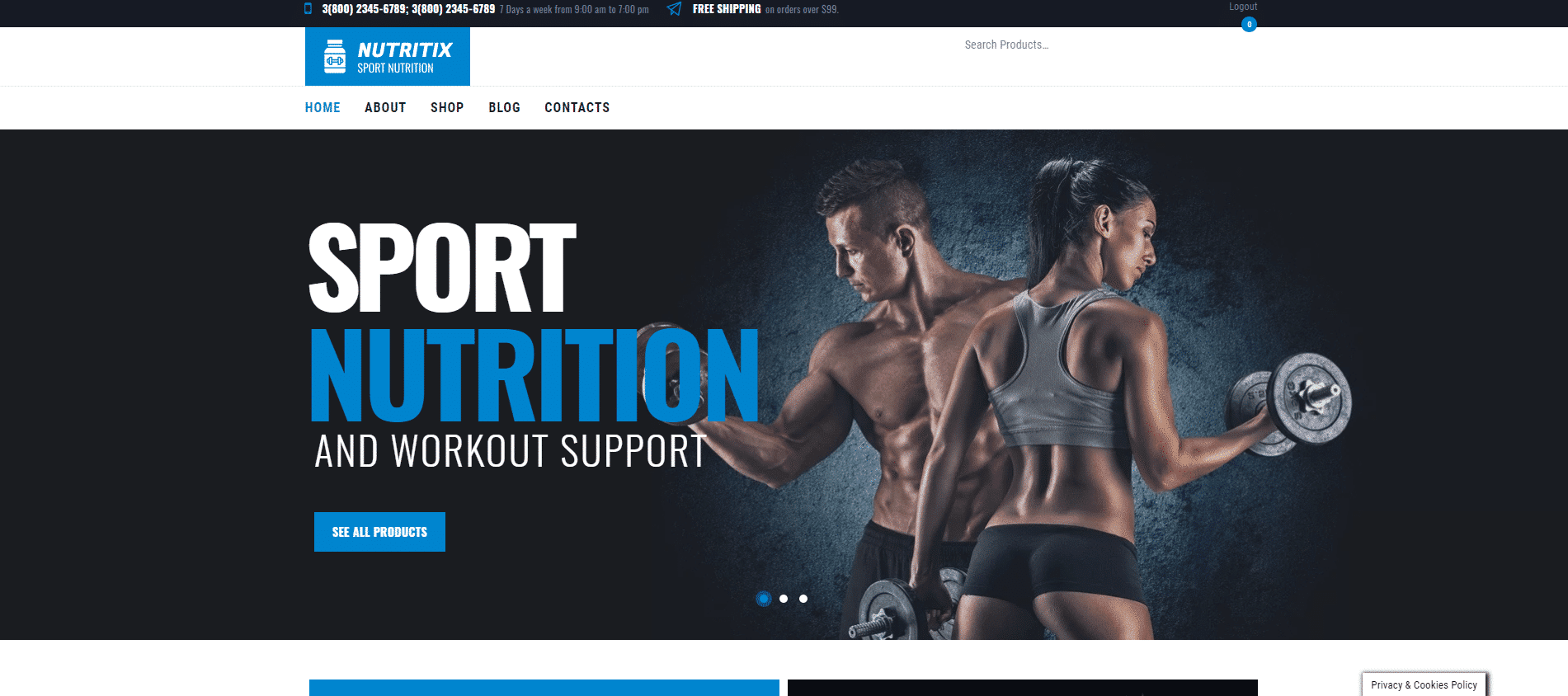 Sport Nutrition Shop DFY